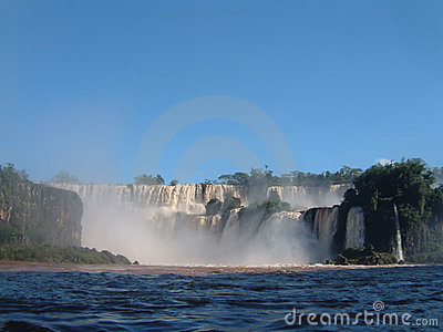 Iguazu s Waterfall