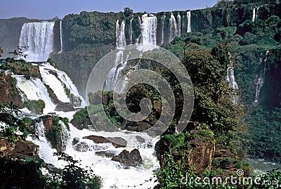 Iguazu Waterfalls,Brazil