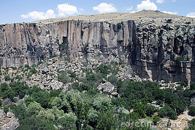 Ihlara valley in Cappadocia