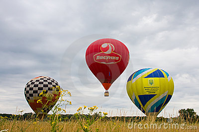 II international festival of aeronautics Editorial Photo