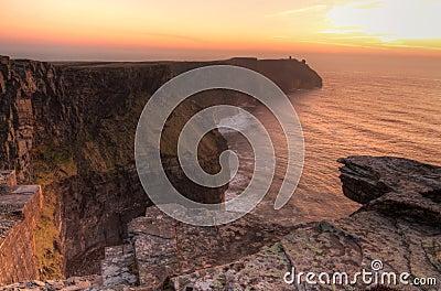 IIrish cliffs of Moher