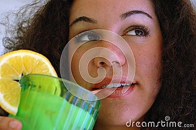 Ijskoude limonade
