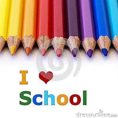 Ik houd van school