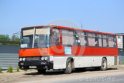 Ikarus 256 Editorial Stock Photo
