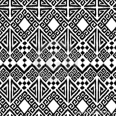Free Ikat Geometric Royalty Free Stock Photography - 12876917
