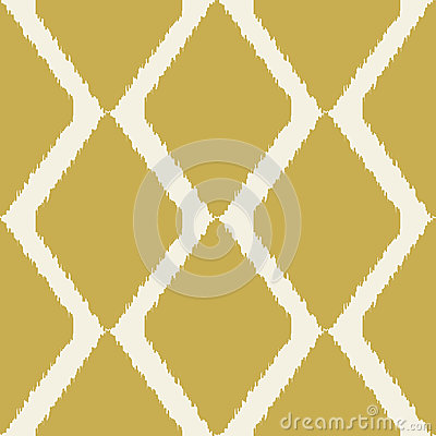 Ikat seamless modern pattern for home decor or web