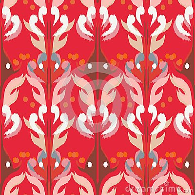 Free Ikat Seamless Pattern As Cloth, Curtain, Textile Design, Wallpa Royalty Free Stock Image - 118172216