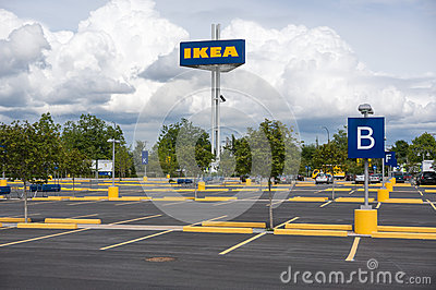 Ikea Parking Lot Editorial Photography Image 31766397