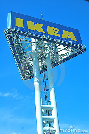 Ikea sign board Editorial Photography
