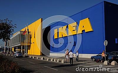 Ikea Slovakia in Bratislava Editorial Stock Image