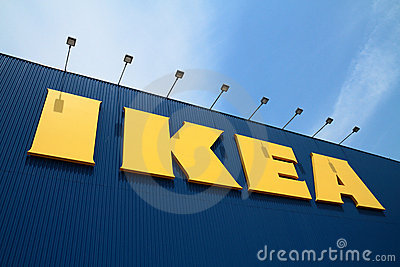 Ikea store Editorial Stock Image