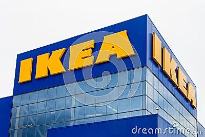 Ikea store exterior editorial photo image 42155301 for Ikea bloomington minnesota