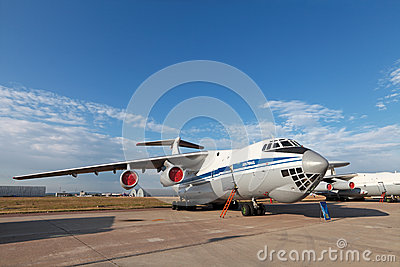 Il-76 (NATO reporting name: Candid) Editorial Photo