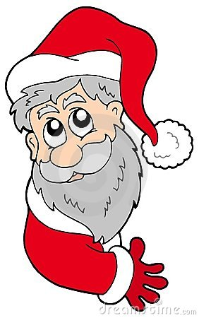 Il Babbo Natale appostantesi