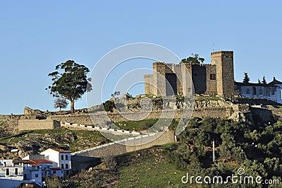 Il castello, Cortegana