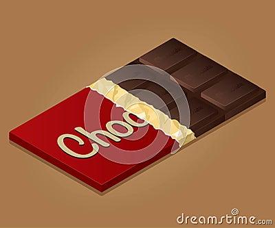 Il cioccolato ha impostato 1