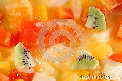 Il grafico a torta tirolese versa l alimento del gel