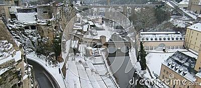 Il Lussemburgo in inverno