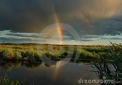 Il Rainbow di sera.