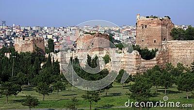 Il rampart di Costantinopoli