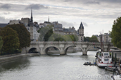 Ile de la Cite, Paris