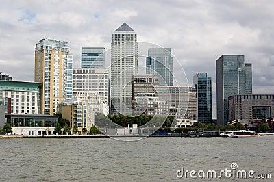 Ilha dos cães, Londres