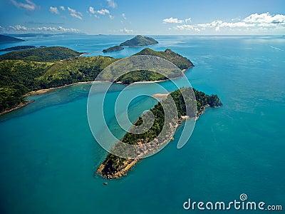Ilhas do domingo de Pentecostes de Austrália