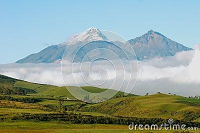 Iliniza Sur Iliniza Norte Volcanos in Ecuador