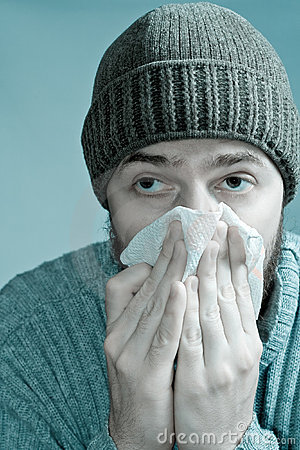 Ill man infected with flu virus or swine fever