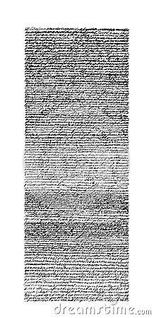 Illegible script texture