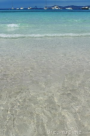 Illetes Formentera beach turquoise mediterranean