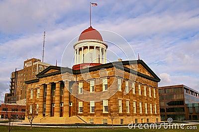Illinois-altes Zustand-Kapitol
