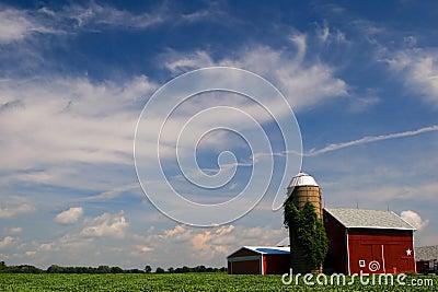Illinois-Bauernhof