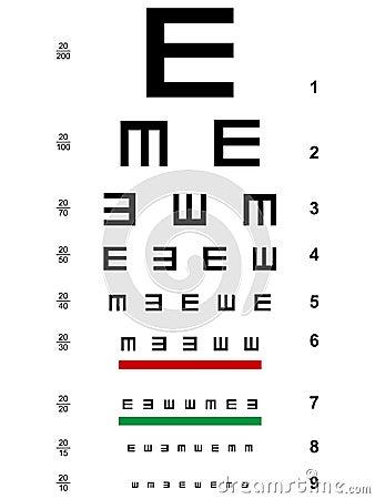 Illiterate E Test EPS