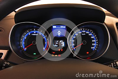 Illuminated dashboard