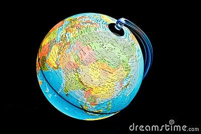 Illuminated Globe - Asia