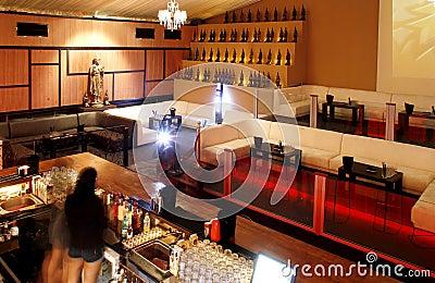 Illuminated night bar