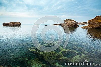 Illuminated Seascape