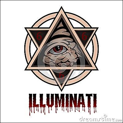 Illuminati Stock Photo Image 59693569