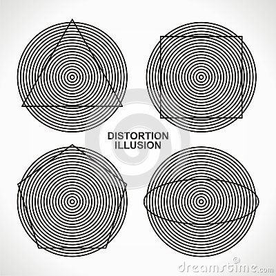 Illusion distortion
