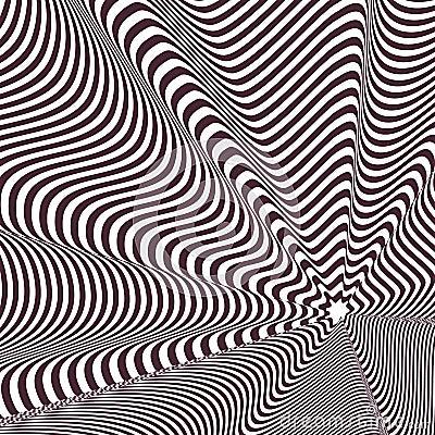 Illusion optique illustration de vecteur image 39047925 - Livre illusion optique ...