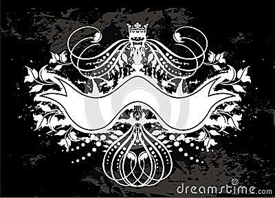 Illustrated banner design