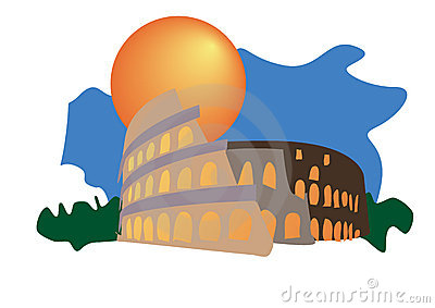Illustrated Colosseum