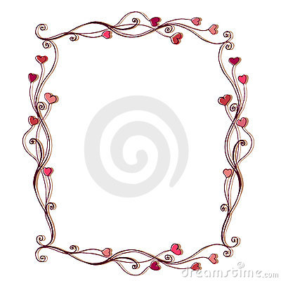 Illustrated cute frame