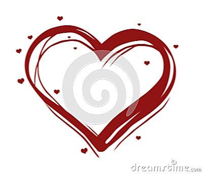 Illustrated heart