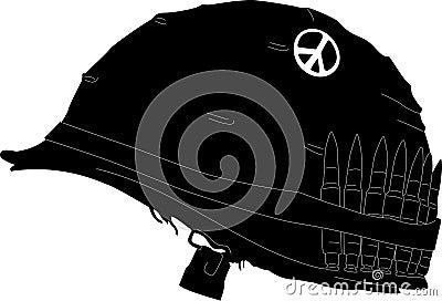 Illustrated helmet