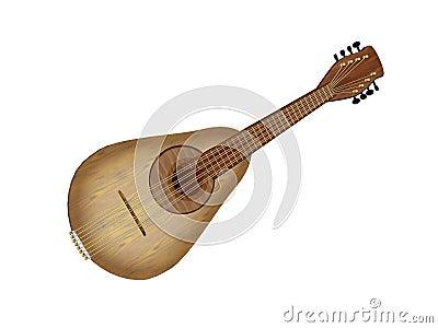 Illustrated Mandolin
