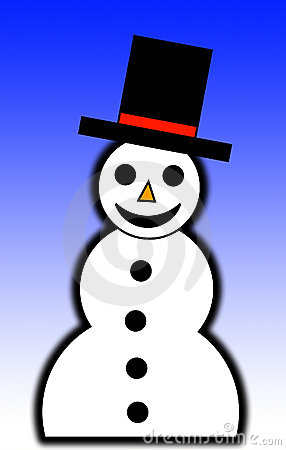 Illustrated Snowman