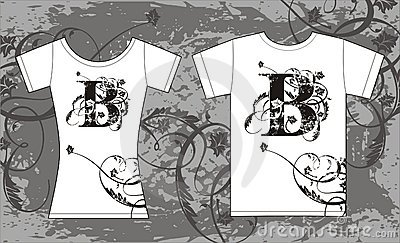 Illustrated t-shirts
