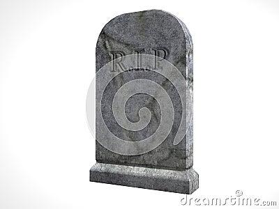 Illustrated Tombstone